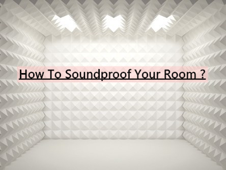 How To Sound Proof a Room (DIY)