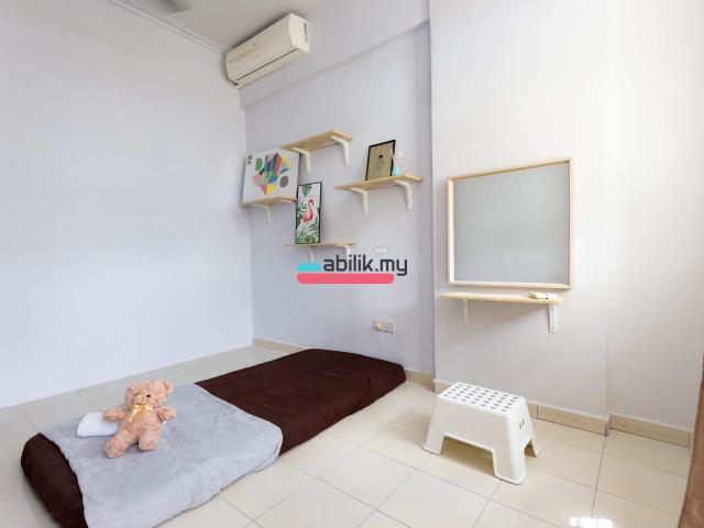 Indah Court Apartment Room For Rent - 1