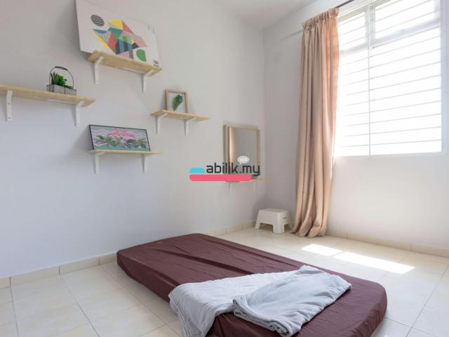Indah Court Apartment Room For Rent - 2