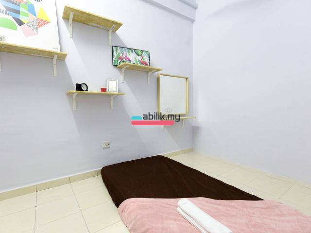 Indah Court Apartment Room For Rent - 3