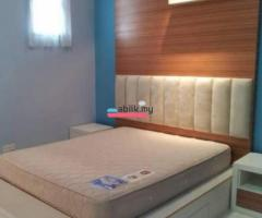 Bukit Indah 24 hrs gated and guarded fully furnished master bedroom - Image 1